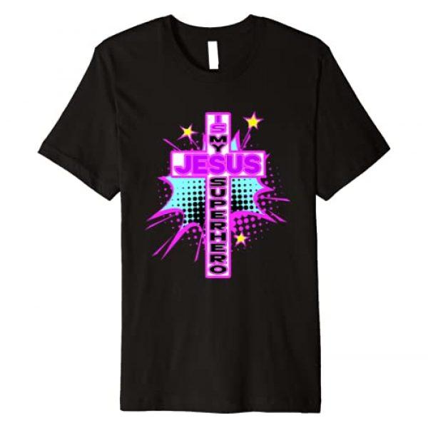 Jesus is my Superhero shirt Graphic Tshirt 1 JESUS IS MY SUPERHERO t-shirt - Jesus shirt for women