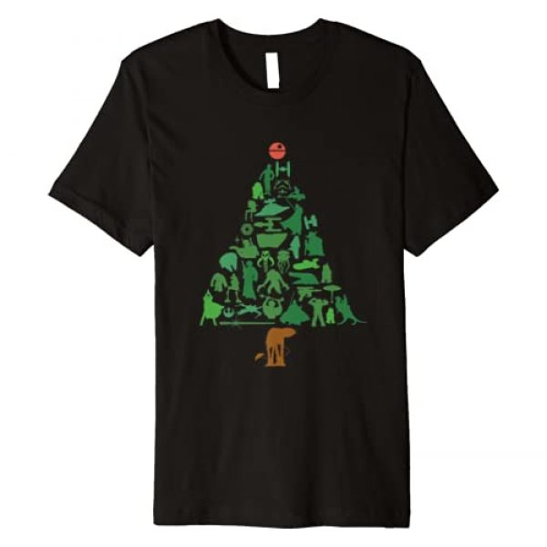Star Wars Graphic Tshirt 1 Holiday Christmas Tree Premium T-Shirt