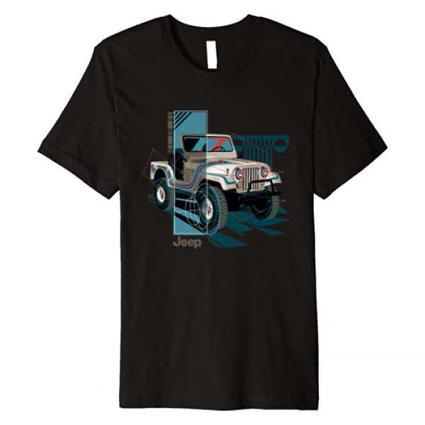 Jeep Graphic Tshirt 1 Wrangler Painted Angles Premium T-Shirt
