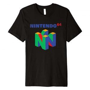 Nintendo Graphic Tshirt 1 64 Classic Logo Retro Vintage Premium T-Shirt