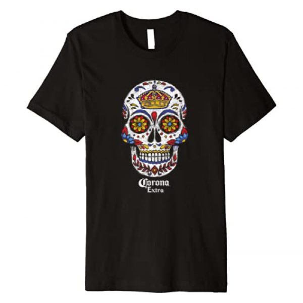 Corona Graphic Tshirt 1 Extra Sugar Skull Premium T-Shirt