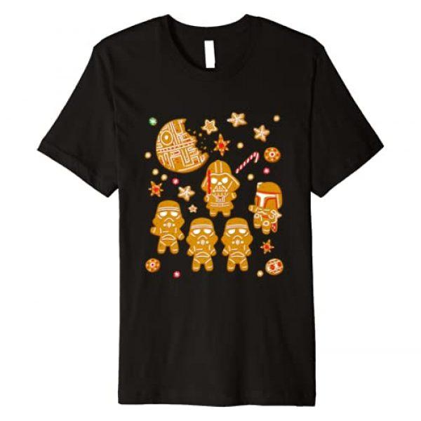 Star Wars Graphic Tshirt 1 Gingerbread Cookies Galactic Empire Holiday Premium T-Shirt