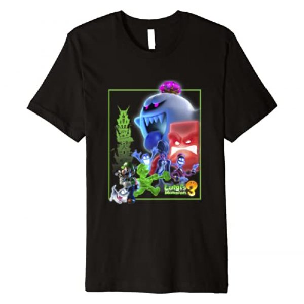Luigi's Mansion 3 Graphic Tshirt 1 Collage Poster Premium T-Shirt