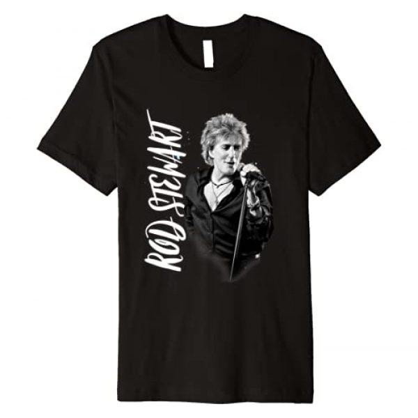 Rod Stewart Graphic Tshirt 1 Admat Premium T-Shirt