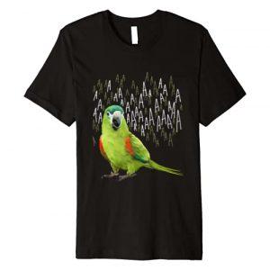 Birbber Graphic Tshirt 1 Screaming Hahn's Macaw T-Shirt