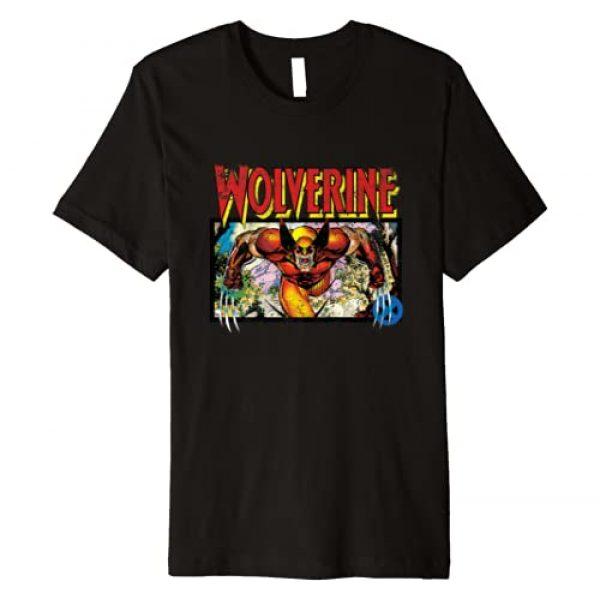 Marvel Graphic Tshirt 1 X-Men Retro Wolverine 90s Premium T-Shirt