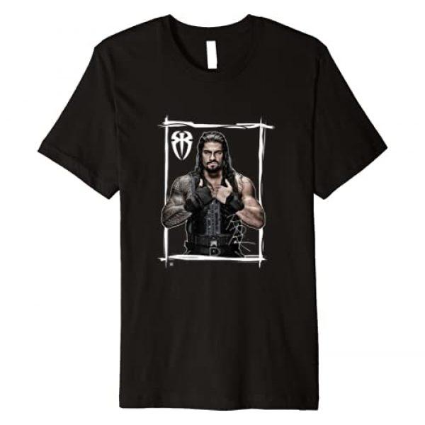 WWE Graphic Tshirt 1 Roman Reigns Black White Premium T-Shirt