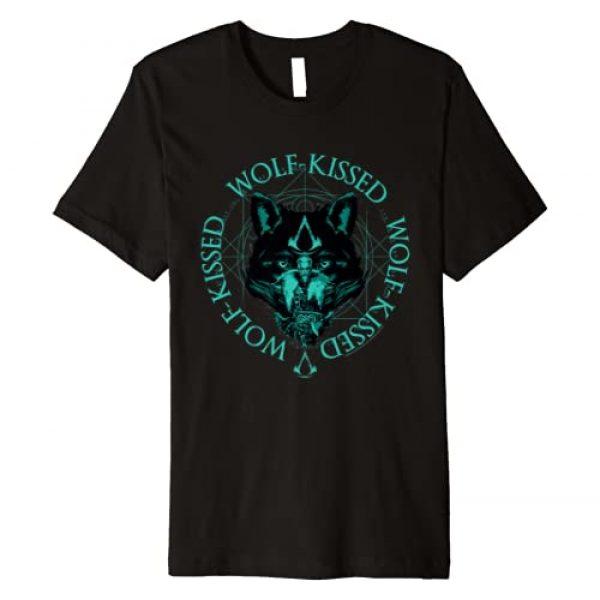 Assassin's Creed Graphic Tshirt 1 Valhalla Wolf Kissed Premium T-Shirt