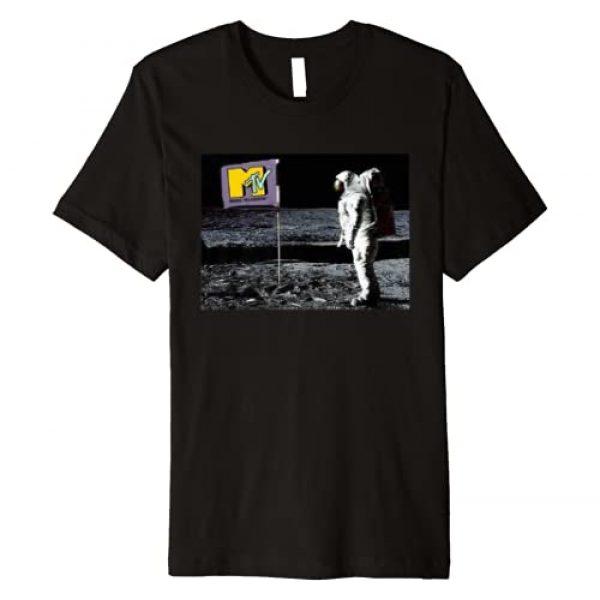 MTV Graphic Tshirt 1 Astronaut Moon Premium T-Shirt