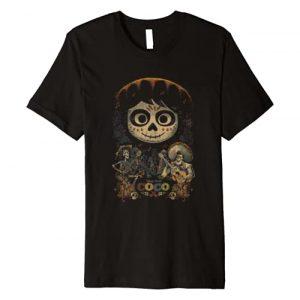 Disney Graphic Tshirt 1 Pixar Coco Miguel & Musical Scene Premium T-Shirt