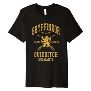 Harry Potter Graphic Tshirt 1 Gryffindor Team Seeker Hogwarts Quidditch Premium T-Shirt