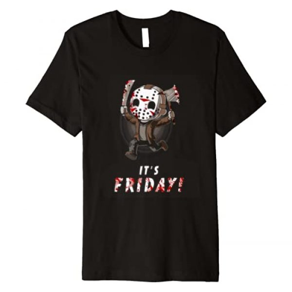 Halloween Graphic Tshirt 1 It's Friday 13th Funny Halloween Horror Graphic T-shirt Premium T-Shirt