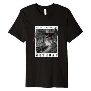 National Introvert Society Graphic Tshirt 1 Mothman Encounter - 1966 Point Pleasant Original Cryptid Art Premium T-Shirt