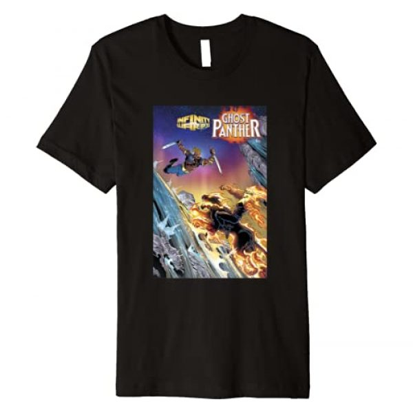 Marvel Graphic Tshirt 1 Ghost Panther Killraven Comic Cover Premium T-Shirt