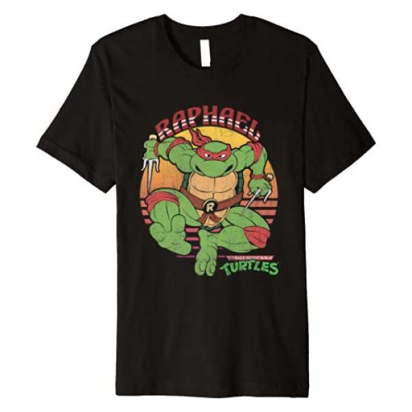 Teenage Mutant Ninja Turtles Graphic Tshirt 1 Raphael Sun Premium Tee