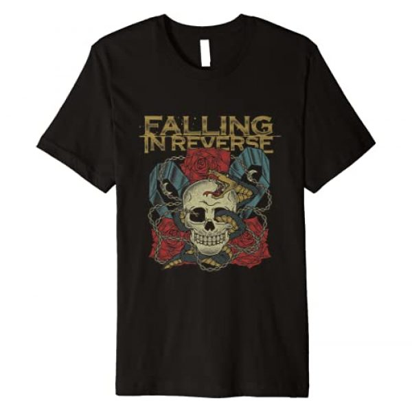 Falling in Reverse Graphic Tshirt 1 The Death - Official Merchandise Premium T-Shirt