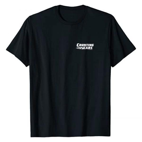 HISTORY Graphic Tshirt 1 Counting Cars Logo Short Sleeve T-Shirt