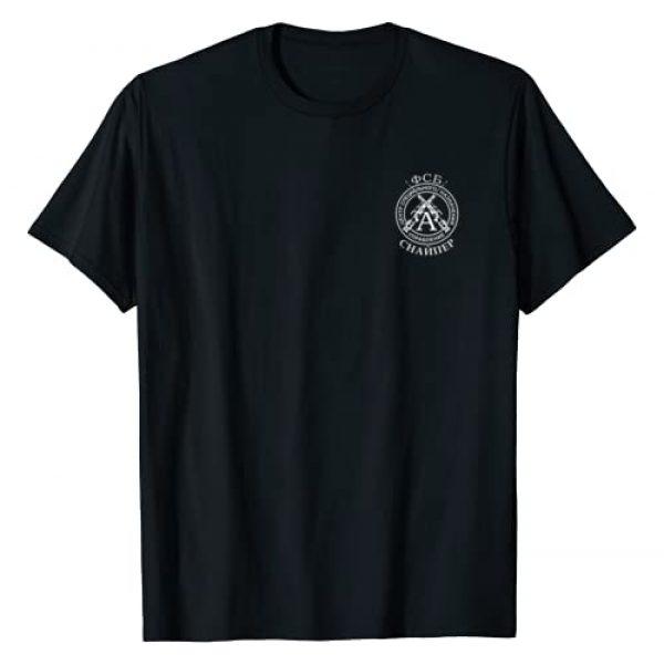 mechaproject Graphic Tshirt 1 Russia FSB Spetsnaz Alpha Group Sniper T-shirt