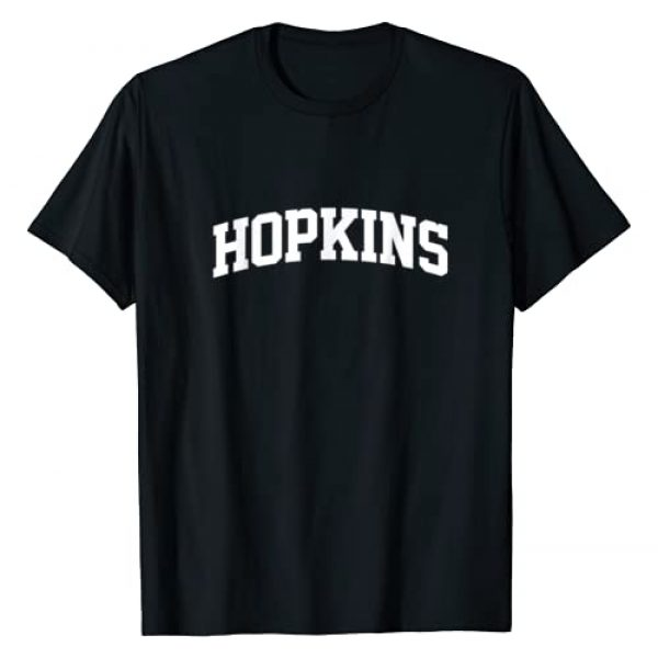 Hopkins Team Gift Tees Graphic Tshirt 1 Hopkins Family First Last Name Arch T-Shirt