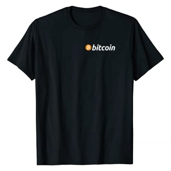 Bitcoin Moon Vibes Tees Graphic Tshirt 1 Bitcoin Pocket Cryptocurrency Digital Currency Coin T-Shirt