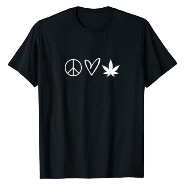 Hilarious Fun Sayings Graphic T-shirts Graphic Tshirt 1 Funny, Peace Sign Heart Marijuana Leaf T-shirts. Sarcastic