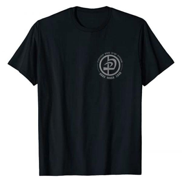Krav Maga Israeli Martial Art Combat T Shirt Co. Graphic Tshirt 1 Krav Maga In Hebrew Letters Logo T-Shirt for Women & Men T-Shirt