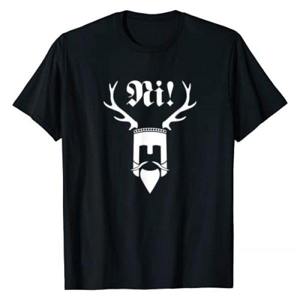 Unknown Graphic Tshirt 1 Monty Python Official Ni! Logo T-Shirt T-Shirt