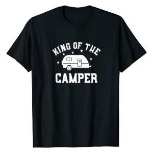 Funny RV Camper T-Shirts Graphic Tshirt 1 King of The Camper - Funny RV Camper Shirt