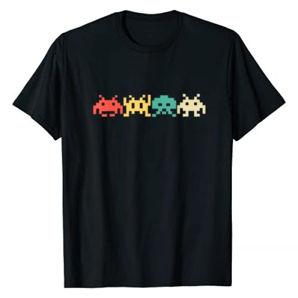 Retro Vintage Gamer Arcade 80s Gifts Graphic Tshirt 1 80s Video Game Vintage Retro Arcade T-Shirt