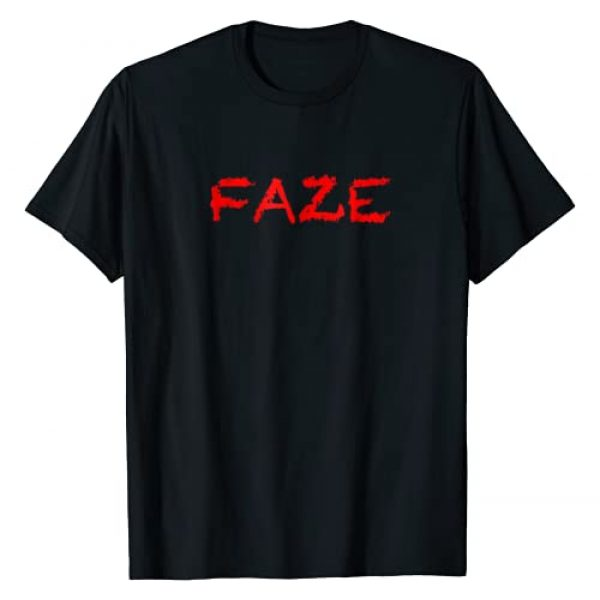 """Tee has """"FAZE"""" Written on It Graphic Tshirt 1 T-Shirt that says the Word - FAZE - on it 