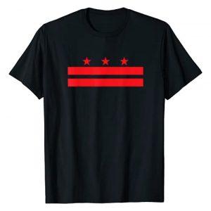 Washington DC Gift Shirts for ALL Graphic Tshirt 1 Washington DC Flag T-Shirt