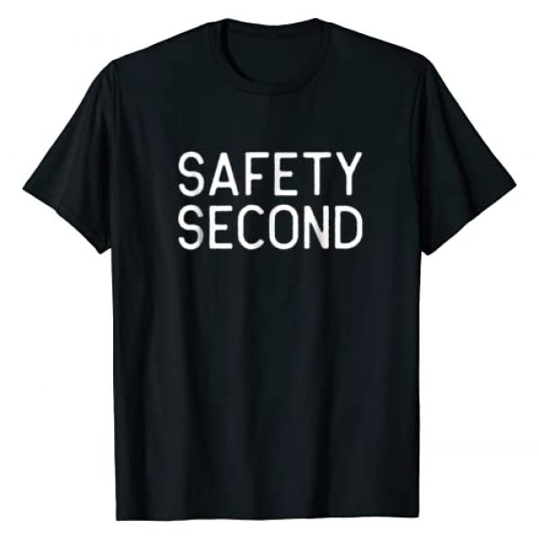 Motorcycle T-Shirts for Bikers Graphic Tshirt 1 Safety Second Shirt for Motorcycle Riders