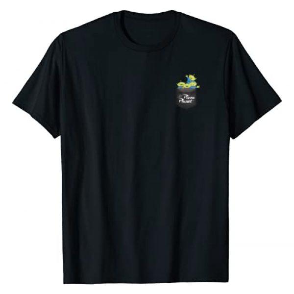 Disney Graphic Tshirt 1 Pixar Toy Story Pizza Planet Alien Left Chest T-Shirt