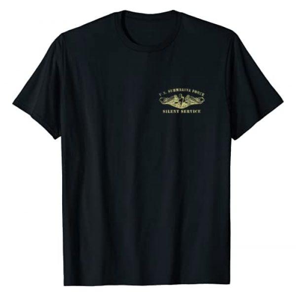 Proud U.S Navy Submarine Veteran Tee Shirt Gifts Graphic Tshirt 1 U.S Navy Submarine Veteran Silent Service T-Shirt Vintage T-Shirt