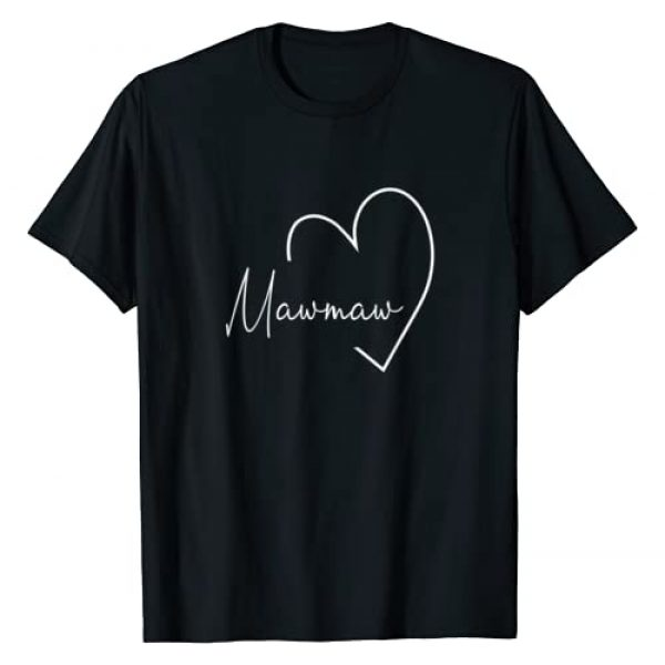 Gift For Mawmaw Graphic Tshirt 1 Womens Mawmaw Gift Grandma Christmas Mother's Day T-Shirt