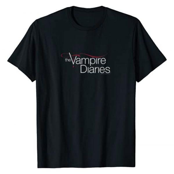 Warner Bros. Graphic Tshirt 1 Vampire Diaries Logo T-Shirt