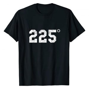 225 Degrees Barbecue Graphic Tshirt 1 225 Degrees - BBQ - Grilling - Smoking Meat T-Shirt
