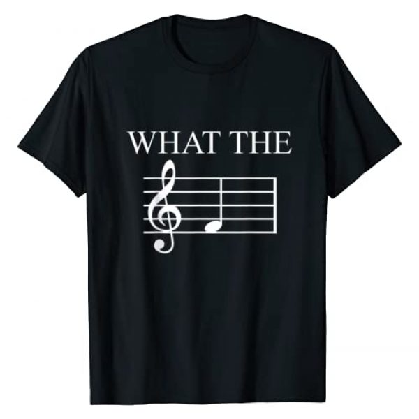 What The F Note Key Music Graphic Tshirt 1 Humor Gift T-Shirt
