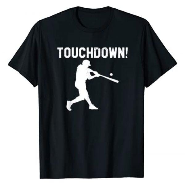 Baseball Tees Graphic Tshirt 1 baseball shirts for men woman kids touchdown funny fun shirt