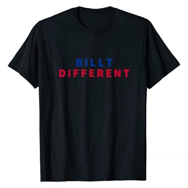 Bills Mafia Football Fan Co Graphic Tshirt 1 Billt Different T-Shirt