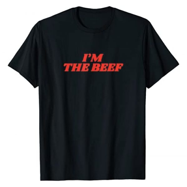 I'm The Beef Graphic Tshirt 1 Funny Vintage Aesthetic I'm The Beef Streetwear T-Shirt
