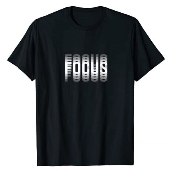 Novelty Trippy Illusion Graphic Tshirt 1 Focus Optical Illusion Trippy T-Shirt