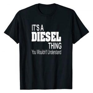 Diesel Graphic Tshirt 1 It's A Diesel Thing T-Shirt Black Smoke Trucks Rolling Coal