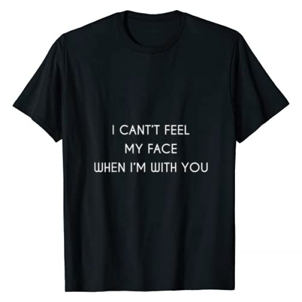 BURBERRY Graphic Tshirt 1 Can't Feel My Face When I'm With You - Love Tshirt T-Shirt