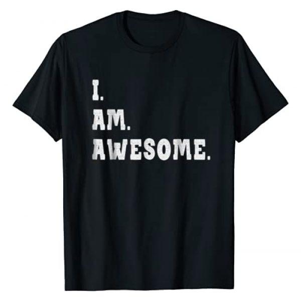 Awesome Shirts, T shirts & Tees Graphic Tshirt 1 I'm Awesome T Shirt - Be Awesome for I'm Awesome Shirt & Tee