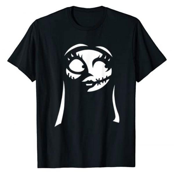 Disney Graphic Tshirt 1 The Nightmare Before Christmas Sally Big Face T-Shirt