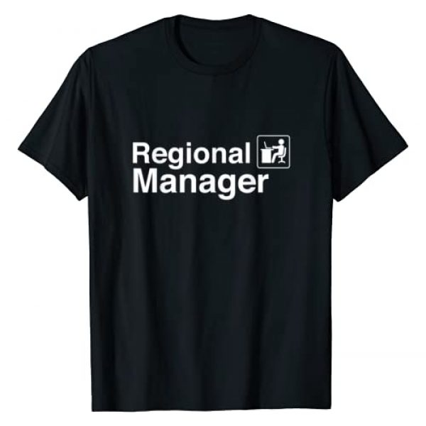 Office Tee Apparel Graphic Tshirt 1 Funny Regional Manager Office T-Shirt