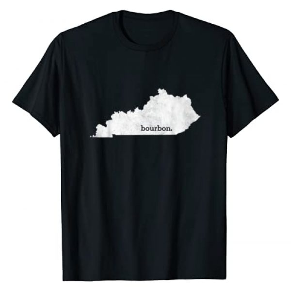 Mega Drinking Shirts Graphic Tshirt 1 State of Kentucky Bourbon Shirt - Whiskey T-shirt