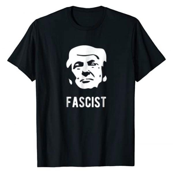 Eli's antiTrump Tees Graphic Tshirt 1 Fascist anti-Trump T-Shirt