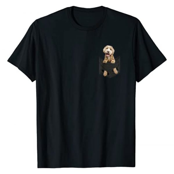 Labradoodle Shirts Graphic Tshirt 1 Dog in Your Pocket Labradoodle t shirt tee shirt